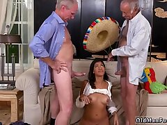 Creampie old fat granny Going South Of The Border