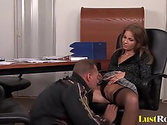 Pussy licking and anal for incredible Lauryn May.mp4