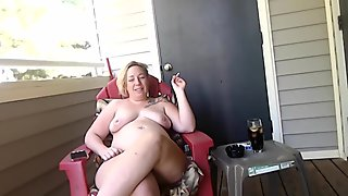 Milf Talks about how she started smoking