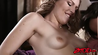 Young babe Ella Nova has big ass fucked before cumshot